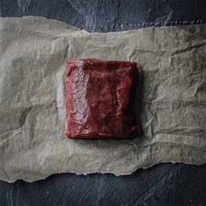 wild venison loin steak