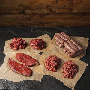 wild venison meat box