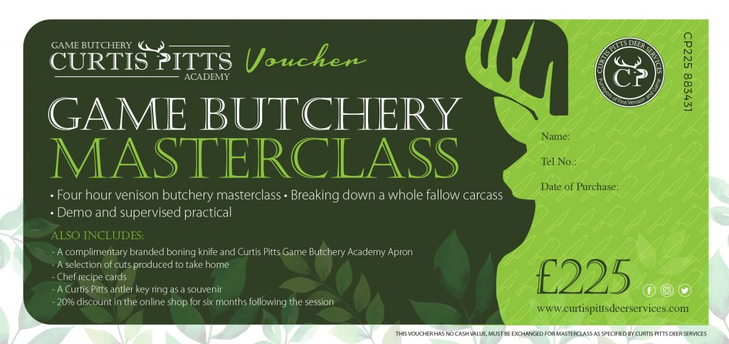 Curtis Butchery Masterclass Voucher
