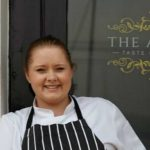 Elly Wentworth, Head Chef at The Angel in Dartmouth